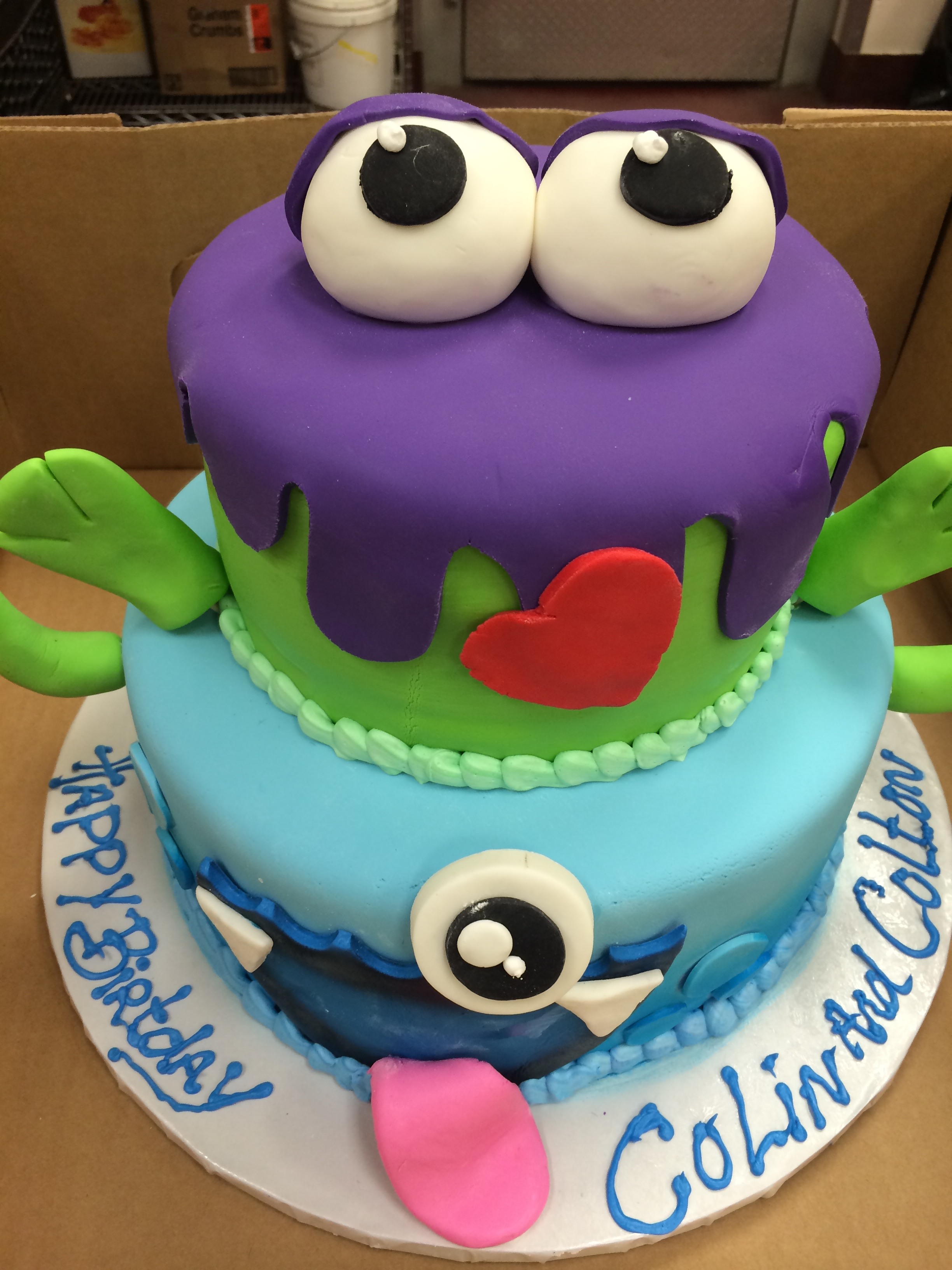 Fun Monster Cakes